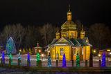 Огни храма Рождества Пресвятой Богородицы