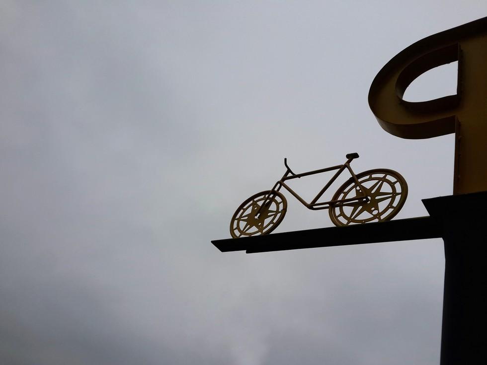 Велопрогулка по небу