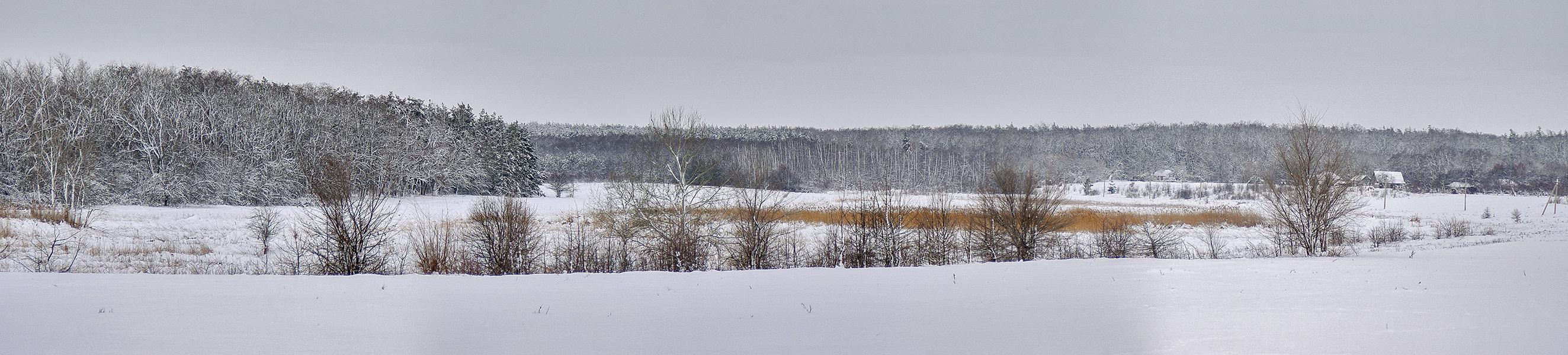 После снегопада, с.Могилёв