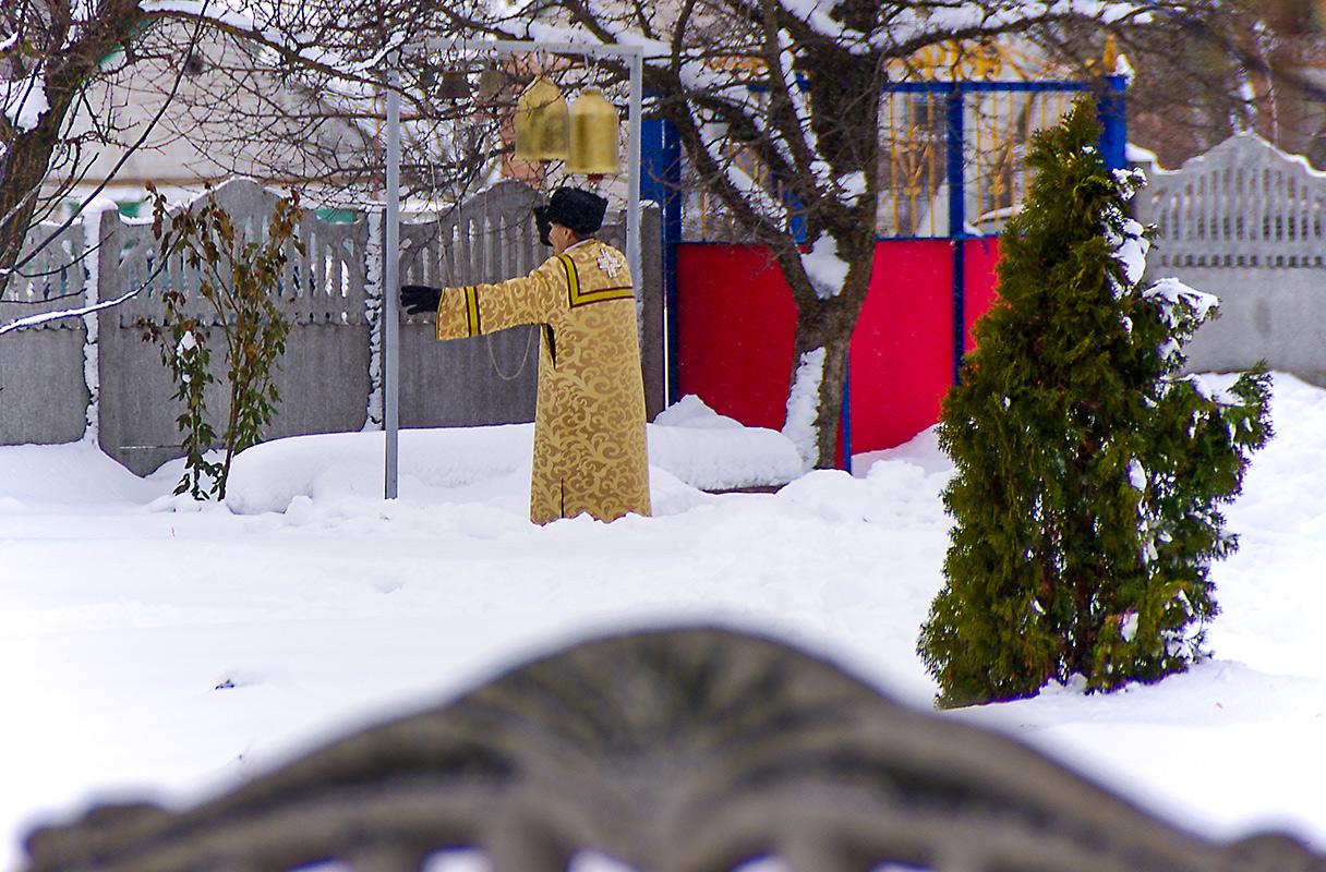 Вечерний звон в селе Могилёв.