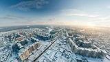 Зимний Новомосковск