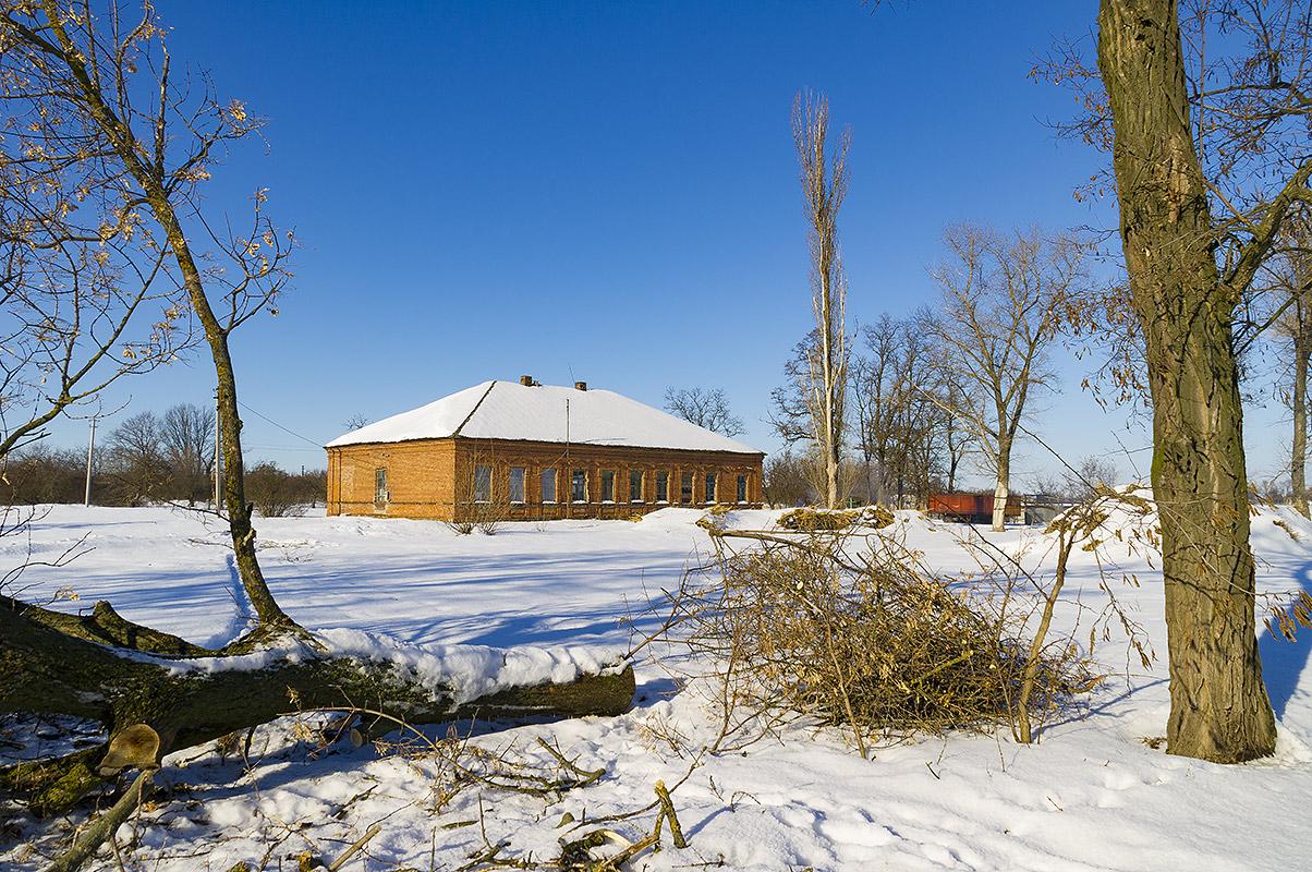 Здание бывшей начальной школы, с.Могилёв.