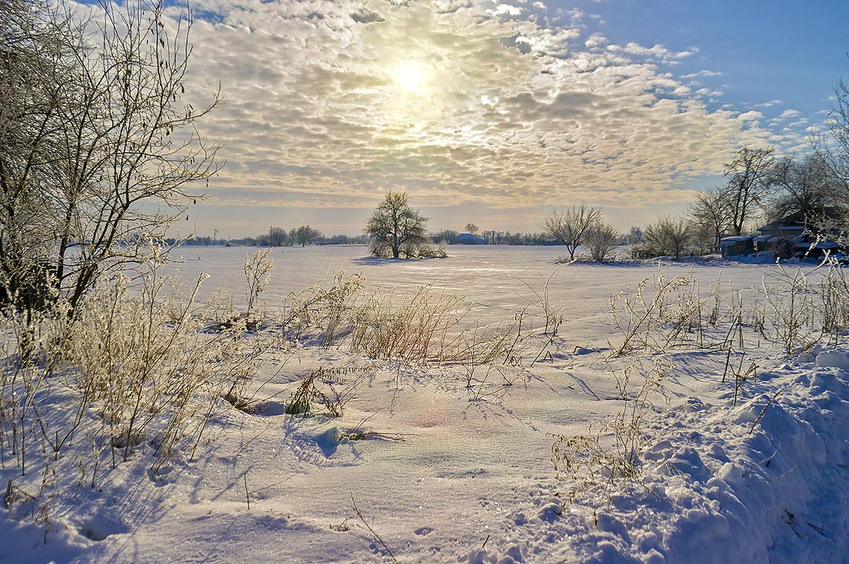 Морозный восход, с.Могилёв