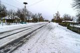 Зимняя распутица, с.Могилёв