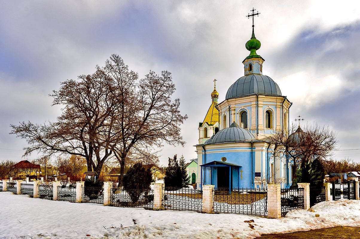 Собор построенный козачим сотником Семёновым, село Китайгород