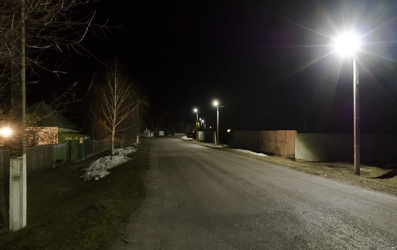 Улица Паникахи ночью