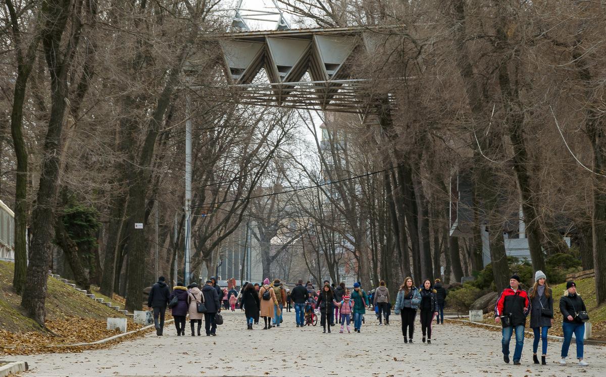Парк Шевченко...