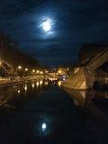 Лунная ночь в парке