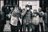 Группа активистов