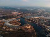 Река Самара в Новомосковске