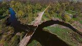 Река Самара в с.Васильевка (Новомосковский р-н)