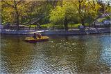 Весенний отдых в парке Глобы (парк Чкалова)