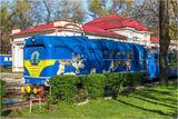 Детская железная дорога в парке Глобы