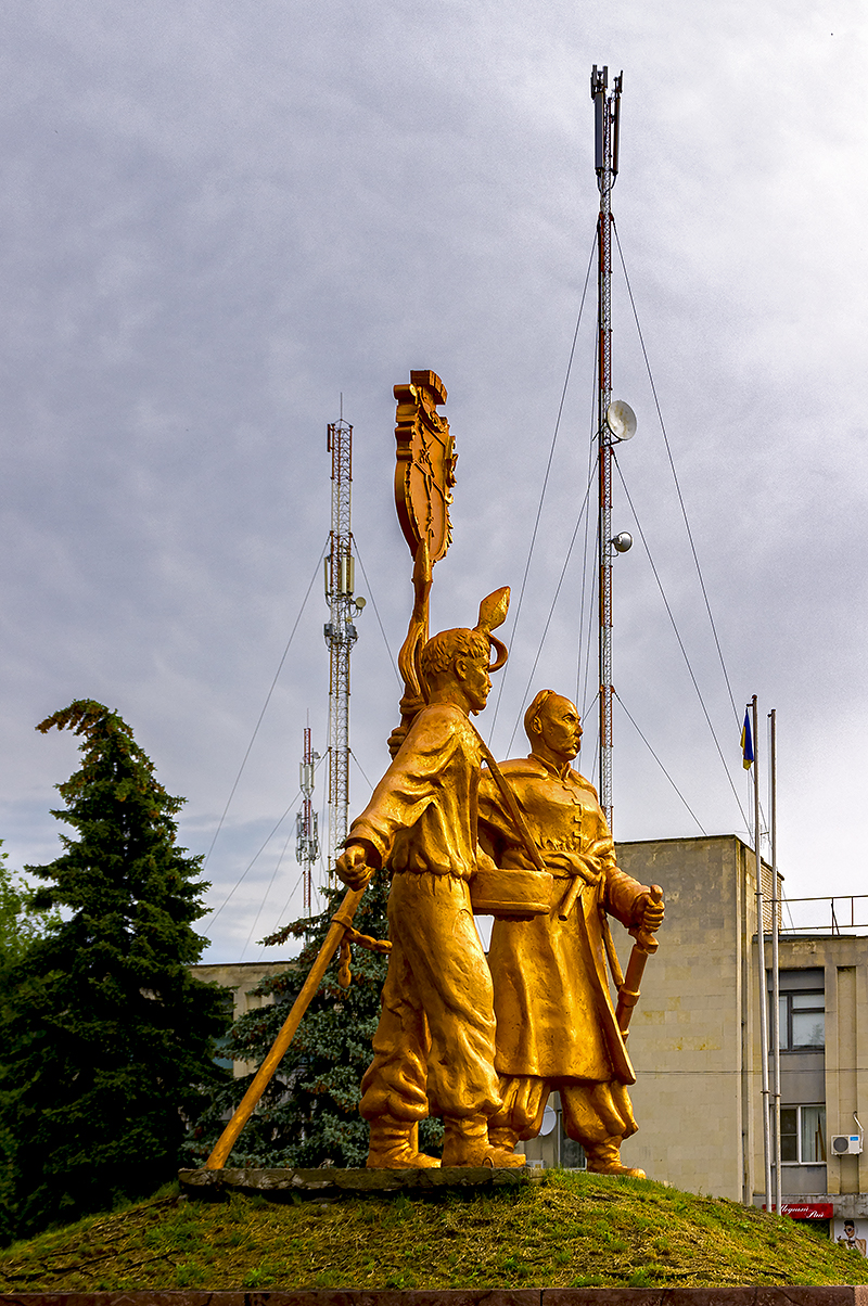 Козаки Кочерга и Сало-основатели Царичанки.