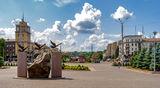 Центральная площадь, Каменское.