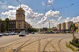 Каменское, в центре города.