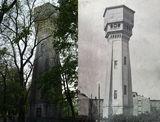 Было-стало (водонапорная башня в ДИИТе)