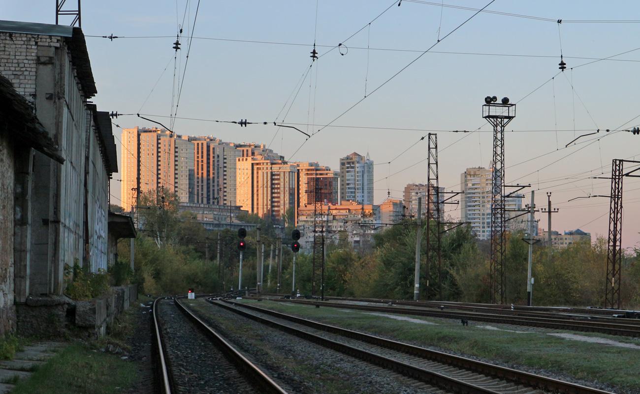 В районе Лоцманского (Южного) вокзала