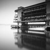 Abandoned river port
