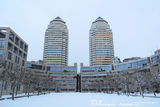 Башни в снегу