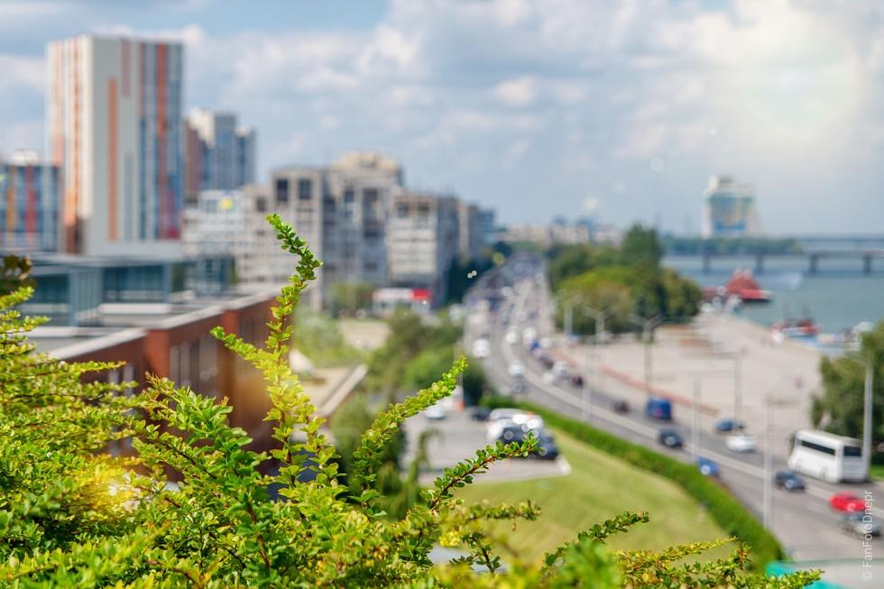 Обзорная площадка парка Шевченко
