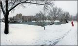 Зима, кругом белым-бело …