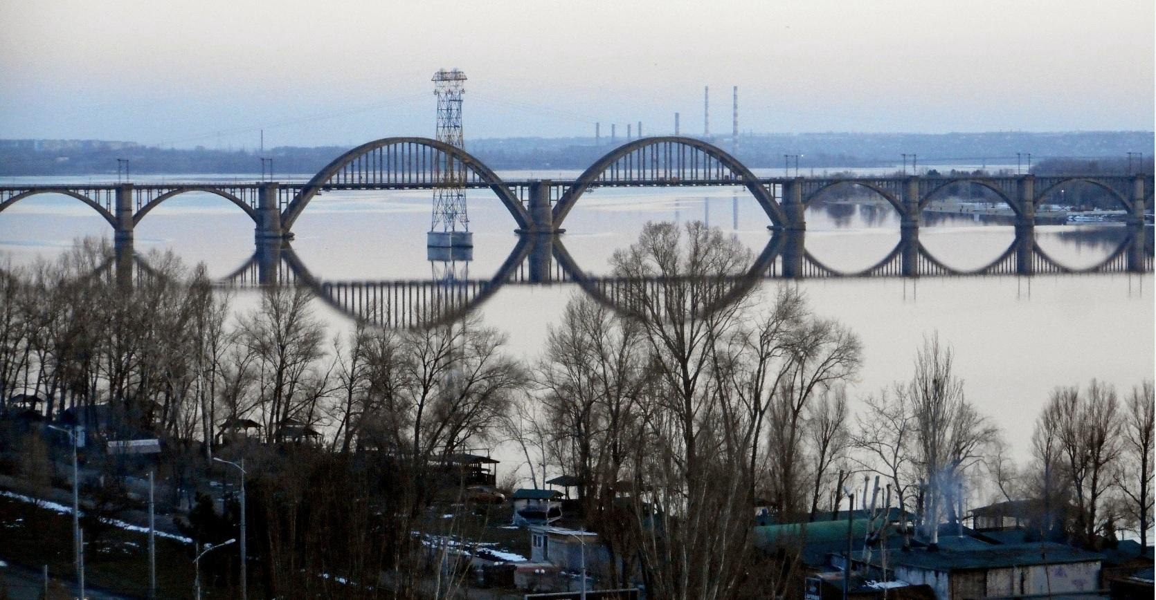 Геометрия Мерефо-Херсонского моста
