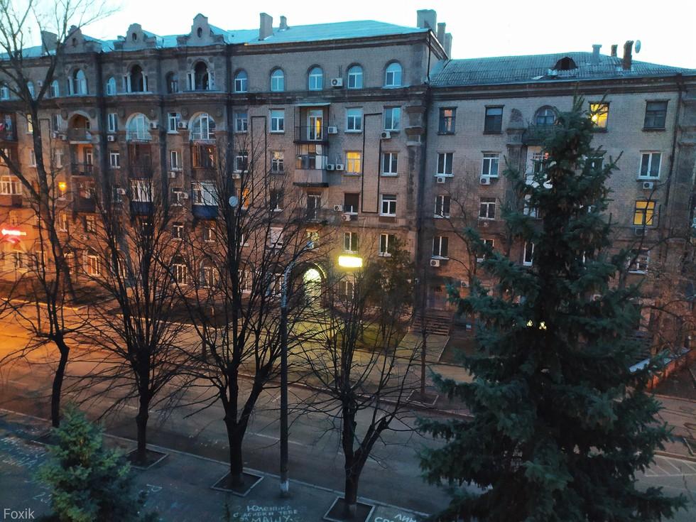 Город просыпается :)