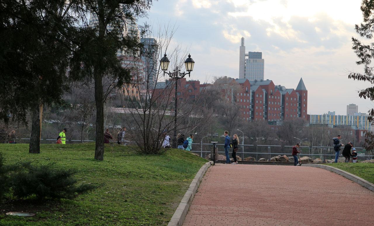 В парке Шевченко