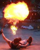 Огненное шоу на набережной