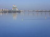 Утро реки. Флешмоб  на воде.