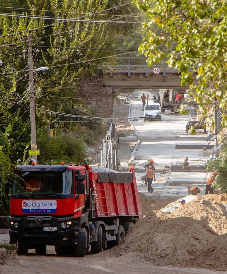 Реконструкция Крестьянского спуска