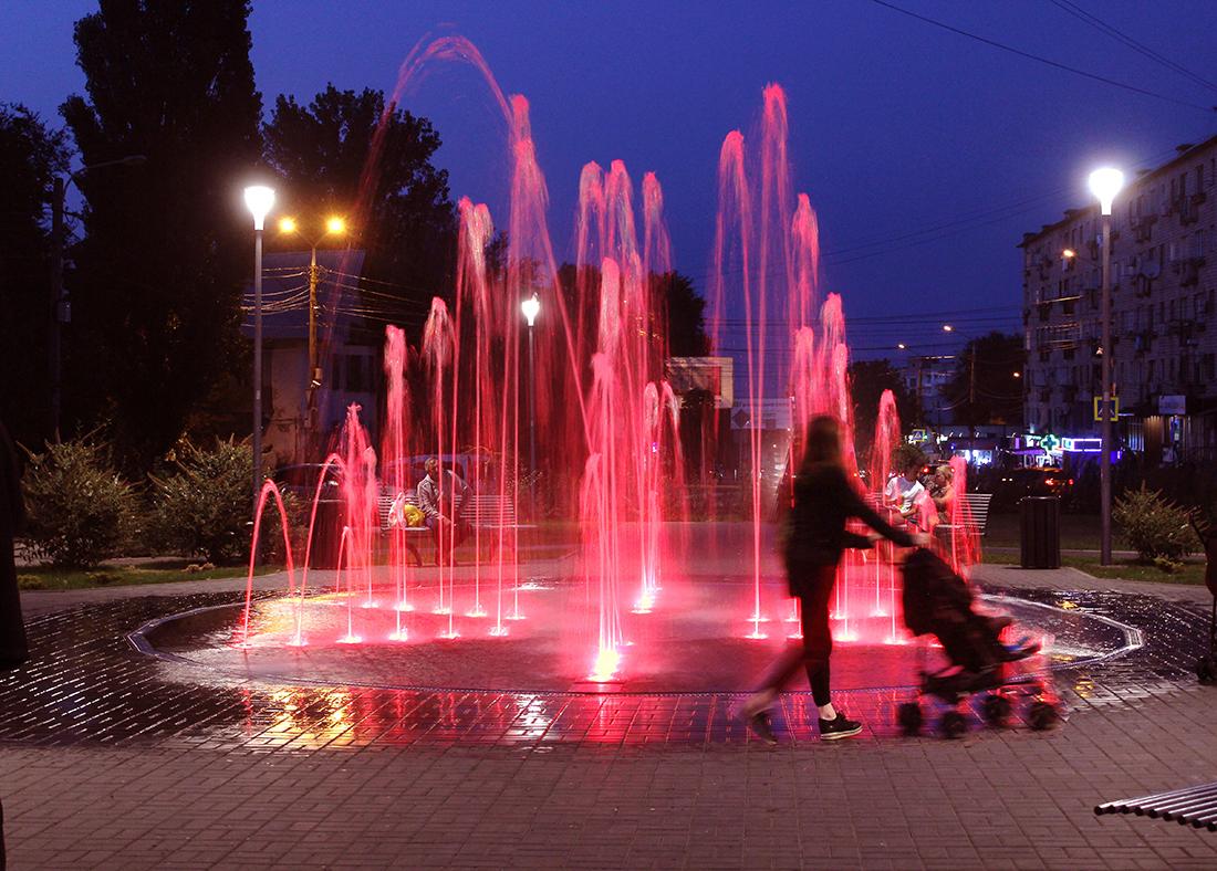 Прогулка у фонтана)