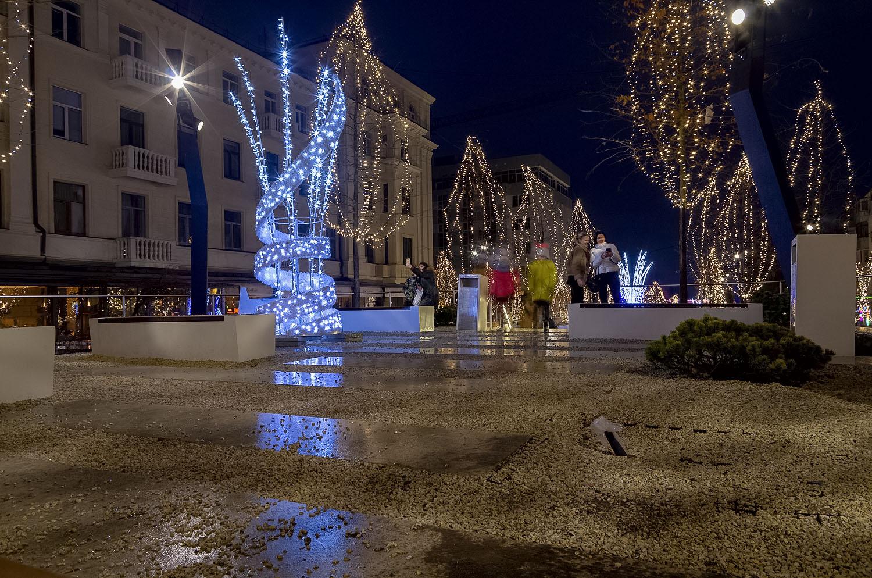 Рождественские огоньки...  яворницкого