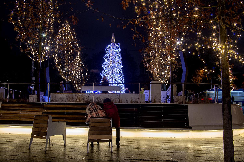 Рождественские огоньки...