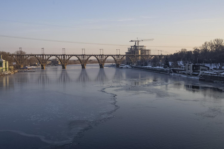 Первый лед на реке...
