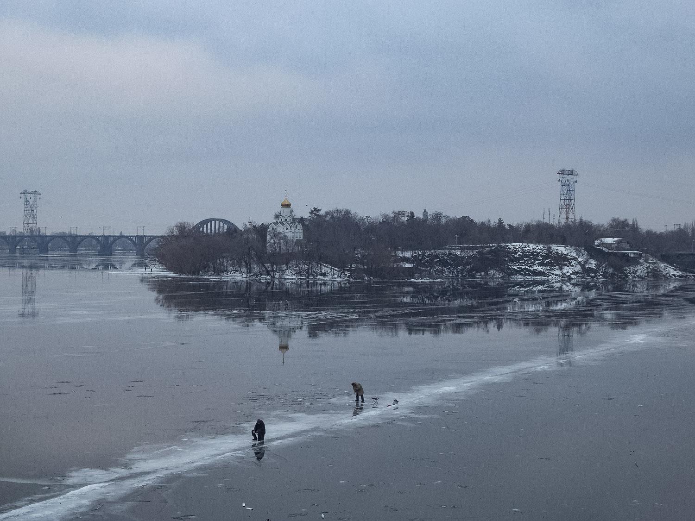 Оттепель... Особенности зимней рыбалки...