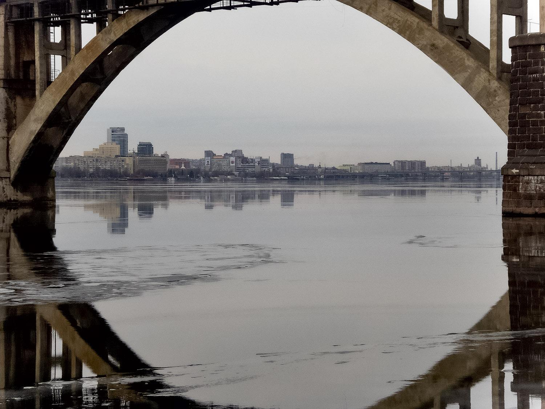Про мост и город в интерьере...  мерефо-херсонский
