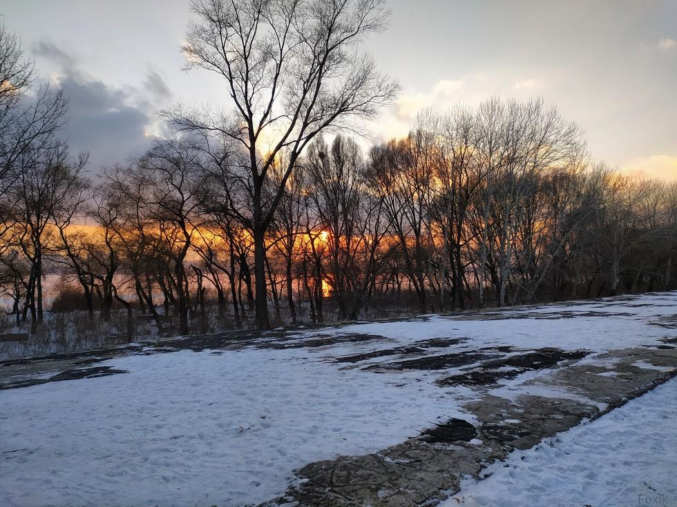 Февральские закаты. Ж/м Солнечный