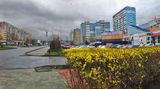 Весна на ул.Юрия Кондратюка