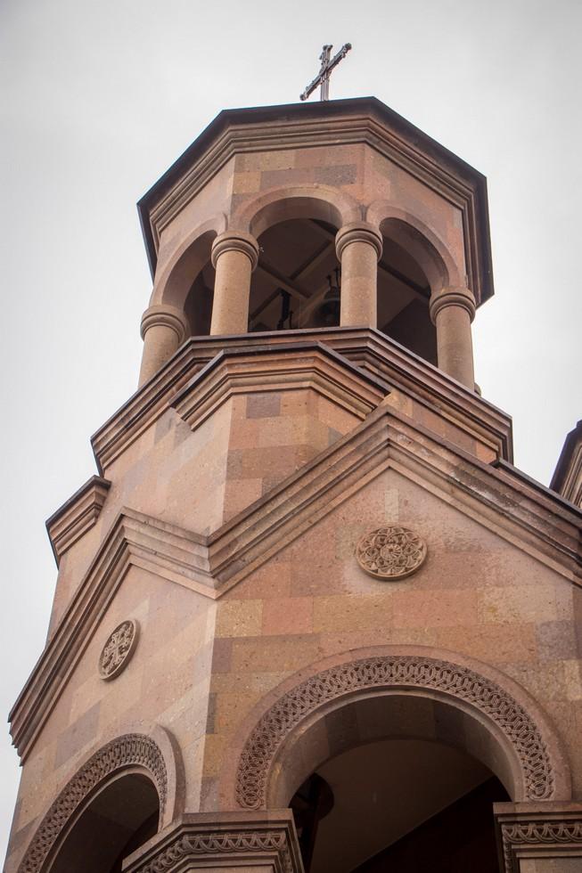 Освятили новый армянский храм Святого Григора Лусаворича