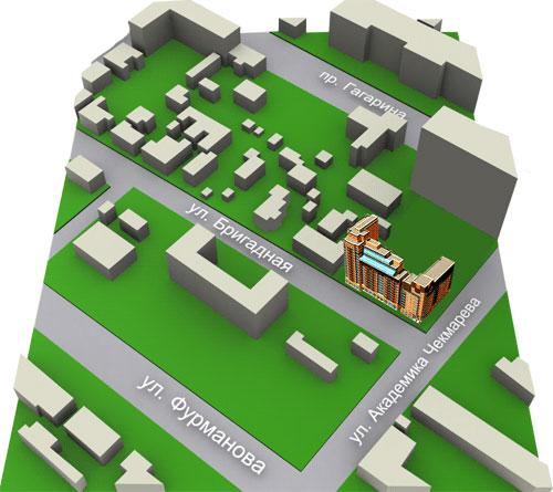 Жилой комплекс по ул. Бригадная Жилой комплекс по ул. Бригадная