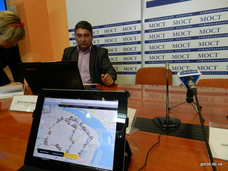 99% маршруток оборудованы системой GPS-контроля - Днепропетровск.