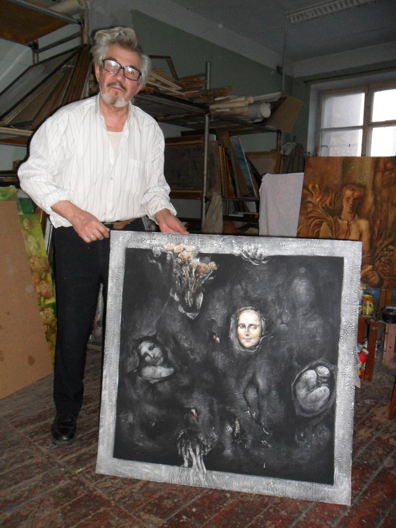 «Черный» и «Белый квадраты» Вячеслава Данилова Заслуженный художник на 20 лет ушел в затворники