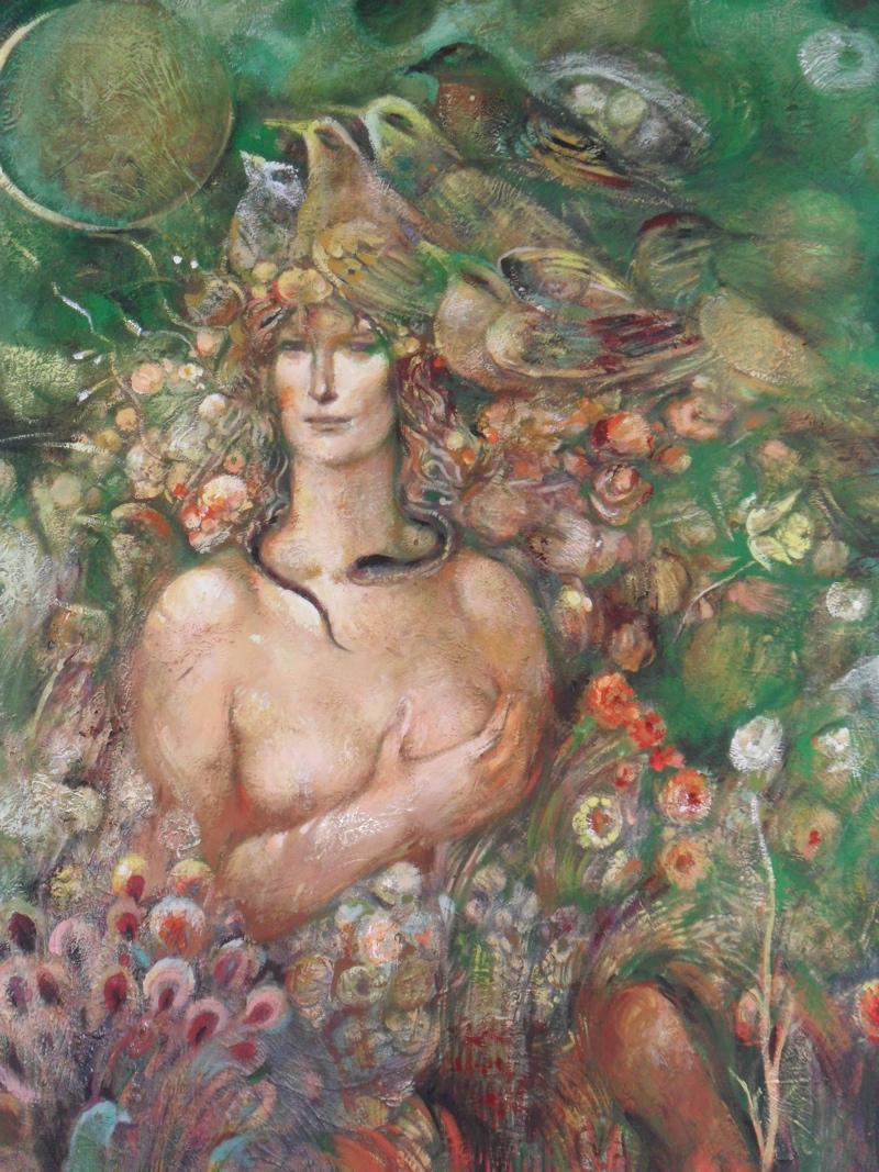 Триптих «В поисках утраченного» Заслуженный художник на 20 лет ушел в затворники
