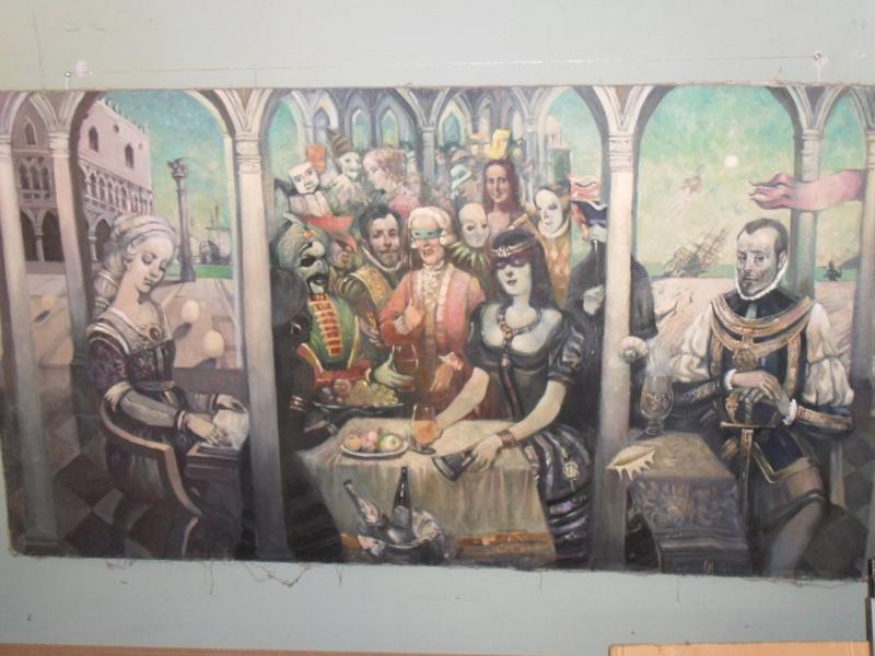Ренессансный триптих «История о великом походе» Заслуженный художник на 20 лет ушел в затворники