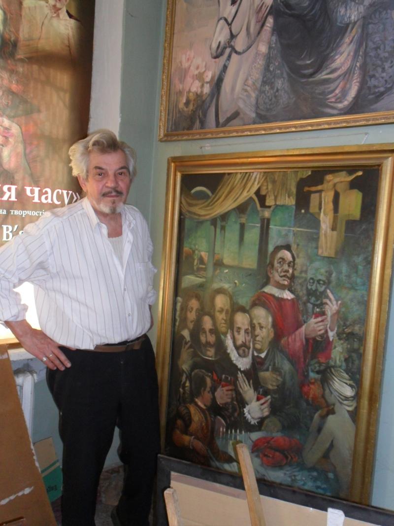 Заслуженный художник на 20 лет ушел в затворники