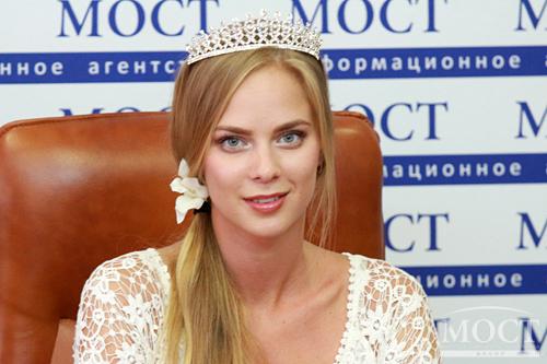 Победительница Юлия Солопенко  Днепропетровчанка получила титул «Мисс Европа» на международном конкурсе красоты