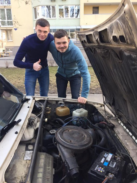 Максим Каленчук и Роман Бебех facebook.com/roman.bebekh