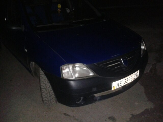 Автомобиль мошенника. Машина оказалась арендована в такси «Чемпион» Днепровские таксисты спасли клиента от мошенников